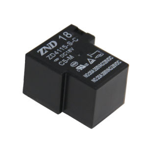 Zd4115 (T90) 5pins Conversion Contact Miniature Electromagmetic Power Relay for Industries Machine Use pictures & photos
