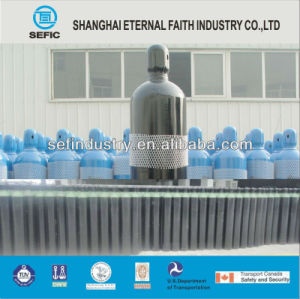 ISO9809-3 40L 150bar Oxygen Gas Cylinder pictures & photos