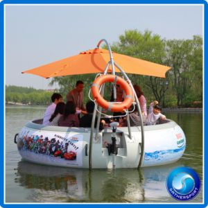 Family Reunion BBQ Donut Boat for Leisure Use pictures & photos