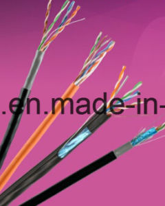 Factory Price High Quality UTP Cat5e Networking Cable with 4 Twisted Pairs (ETL) pictures & photos