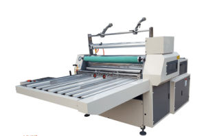920 Thermal Roll Film Manual Hydraulic Lamination/Laminating Machine pictures & photos