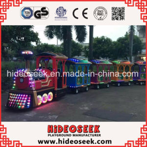 Antique Classical Style Electric Trackless Train for Amusement Park pictures & photos