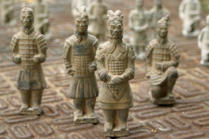 Excavation Terracotta Warriors Craft