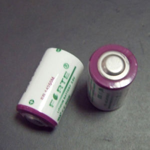 3.6V Er14250m Primary Lithium Battery 1/2AA Size pictures & photos