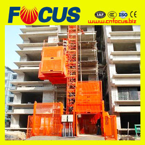 Sc200 2 Ton Building Construction Elevator with 2000kg Load pictures & photos