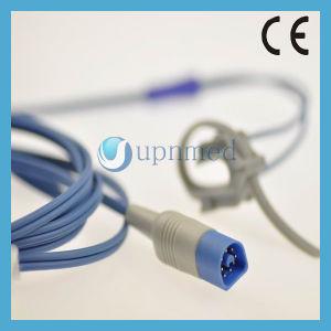 Philips M1191al/M1191bl Adult Silicone Rubber SpO2 Sensor, 8pin, 3m pictures & photos