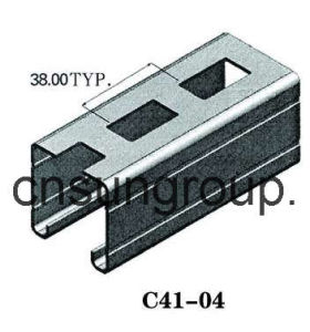 Steel Profile (C41-04)