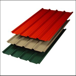 Coated Aluminum Corrugated Roofing Sheets