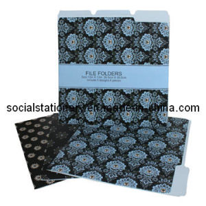 Designer File Folders-Letter Size-Assorted-6PCS Per Set (TOC03005)