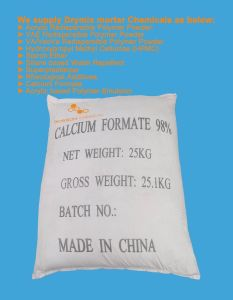 China Super Calcium Formate for Industial & Feed Application From Bosson