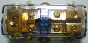 4ga X 3 Input / 8ga X 2 Output Fuse Distribution Block(Fh-9)