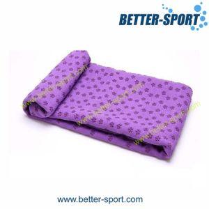 Microfiber Fabric Yoga Mat Towel, Yoga Towel, Yoga Blanket pictures & photos