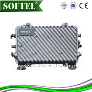 SA1022 1G High Performance Field Bi-Directional AGC Trunk Amplifiers with Low Noise Push-Pull Amplifier Modules pictures & photos