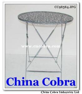 Foldable Metal Table (CC98584)
