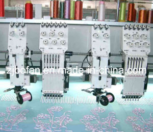 Mixed Coiling Embroidery Machine (612) pictures & photos