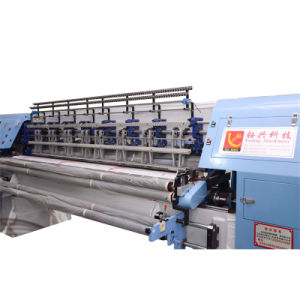 Yuxing High Speed 128 Icnches Lock Stitch Shuttle Multi-Needle Quilting Machine for Duvets pictures & photos