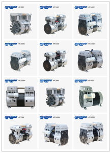 Semicoductor Applied Oil Free Air Electric Reciprocating Piston Vacuum Pump pictures & photos