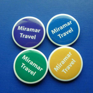 Round Tin Badge, Colorful Lapel Pin (GZHY-TB-012) pictures & photos