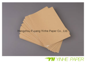 Sticker Paper Self Adhesive Kraft Paper pictures & photos