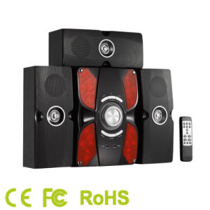 3.1CH Home Theater Speaker System with Subwoofer and Multimedia Speaker