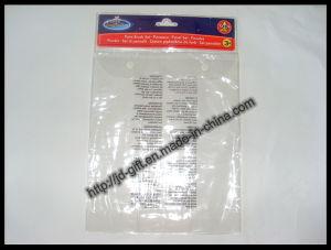 Supermarket Bag / PVC Bag / Plastic Packaging Bag / PVC Button Bag pictures & photos