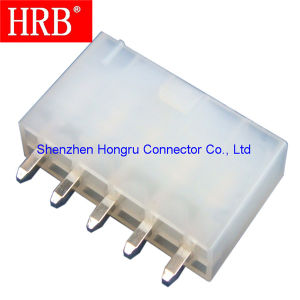 Dual Row Hrb Pin Header with Flat Pin pictures & photos