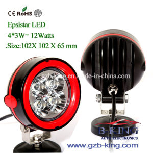 2014 New 10-30V 12watts Epistar LED Work Lights pictures & photos