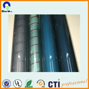 China Blue Film Package Flexible Transparent PVC Rolls pictures & photos