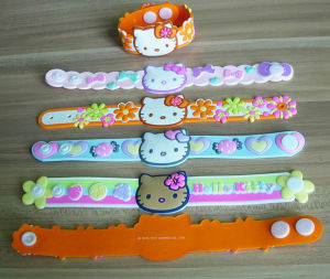Soft PVC Cute Kids Wistband pictures & photos