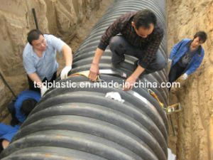 Electro Fusion Welding Band for Spiral Corrugated PE Pipes pictures & photos