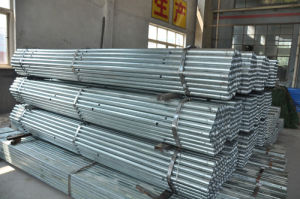 Hot Dipped Galvanized Tube with Holes pictures & photos