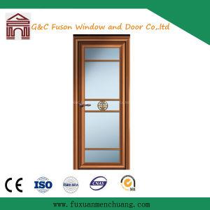 Cheap Price Aluminium/Aluminum Casement Door with Glass (FX-15065) pictures & photos