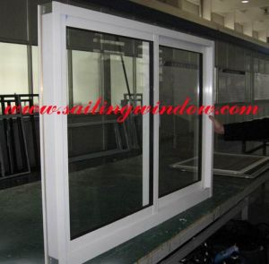 Aluminium Sliding Window - 80b Sliding Window pictures & photos