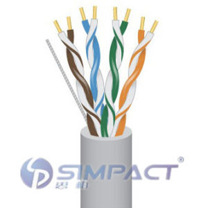 Unshielded Twisted 4 Pairs Cat 5e-Simpact pictures & photos