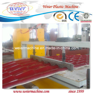 PVC Wave Roof Sheet/Corrugated Sheet Extrusion Machinery pictures & photos