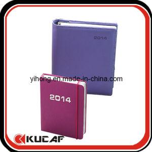 Custom 2017 High Quality PU Diary Printing Companies pictures & photos
