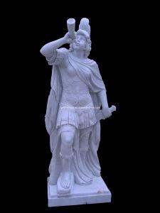 Marble Soldier Sculpture (STT322) pictures & photos