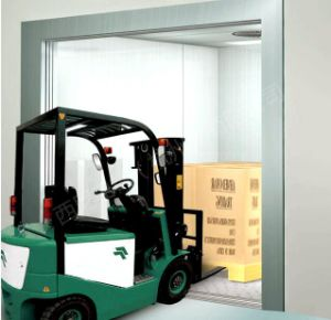 3000kg Freight Elevator with Vvvf Door Operator pictures & photos
