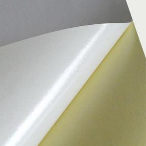 78GSM Semi Glossy Self Adhesive Paper