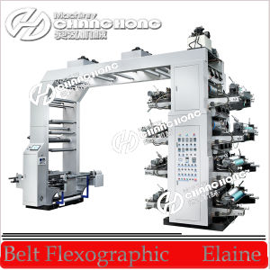 Stack Type High Speed Flexographic Printing Machine Price/Printing Machine Price pictures & photos