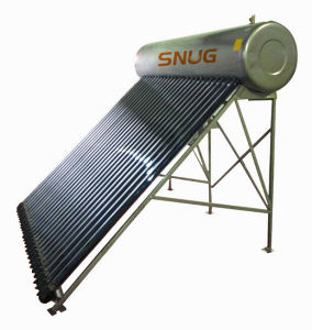Intergative Pressure Solar Water Heater, Hot Water pictures & photos
