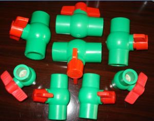 PPR Ball Valve for Plastic Fitting (FQ25011) pictures & photos
