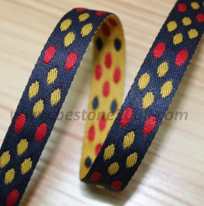 High Quality Polyester Jacquard Webbing for Bag #1401-21 pictures & photos