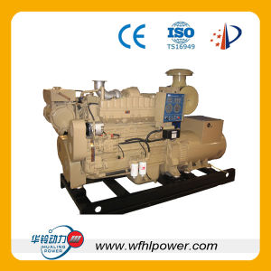 Open Type Marine Diesel Generator Set pictures & photos