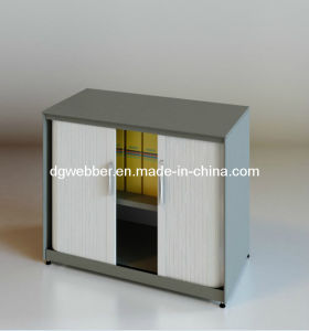 Roller Shutter Door Cabinet with V-Shaped Edge pictures & photos
