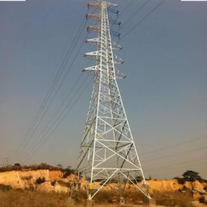 10kv Transmission Angle Steel Tower