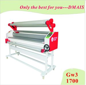 Gw3-1700 Automatic Cold 3 Rollers Laminator for Advertising Material pictures & photos