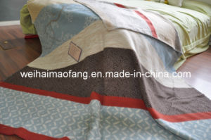 100%Pure Fine Wool Blanket (NMQ-WB024) pictures & photos