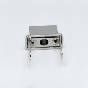 Square Silver Buckles for Leather Belt Bags Cases OEM ODM pictures & photos