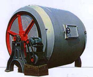 Haning Iron Revolving Drum (GJOB1-2 )